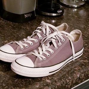Converse grey sneakers size 9 m 11 w